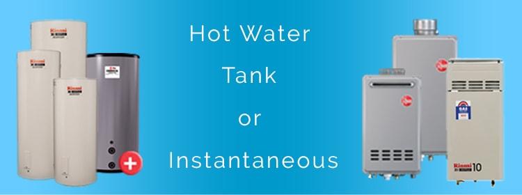 hot water service u2013 choosing between hot water tanks and system